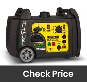 Champion 3400W Inverter Dual Fuel Generator