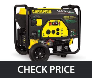 Champion 3800-Watt - Dual Fuel RV Portable Generator