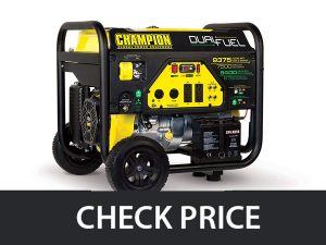 Champion 7500 Watt – Dual Fuel with Electric Start