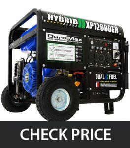 DuroMax XP12000EH – Hybrid Dual Fuel Generator