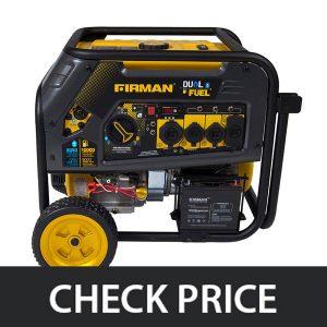 Firman H08051 – Gas or Propane Dual Fuel Portable Generator
