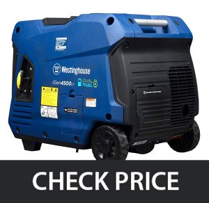 Westinghouse iGen4500DF Dual Fuel Inverter Generator