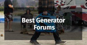 Best Generator Forums