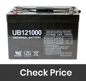 Universal Power Group 12V 100Ah Solar Wind
