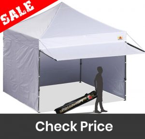 ABCCANOPY Canopy Tent Pop up Instant Shelters Commercial Portable Market Canopies