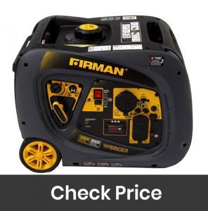 Firman W03081 3300 to 3000 Watt Recoil Start Gas Portable Generator