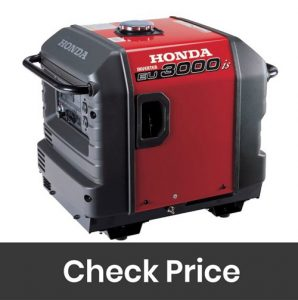 Honda EU3000IS1A Super Quiet Gasoline with Inverter 3000 starting power