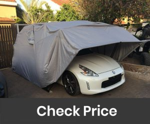 Ikuby All Weather Proof Medium Carport