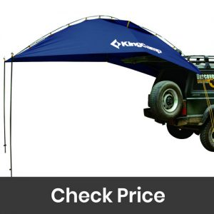 KingCamp Awning Sun Shelter Auto Canopy Camper Trailer