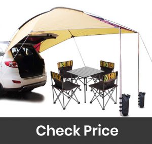 PlayDo 4 Persons Sun Shelter Canopy for Camping