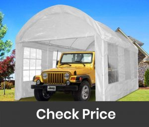 Quictent Carport Gazebo Canopy Garage Car Shelter