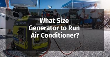 What Size Generator to Run Air Conditioner