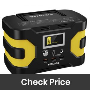 VETOMILE 166Wh Portable Power Station Camping Generator