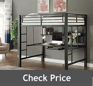 Avalon Full Workstation Beds with Desk