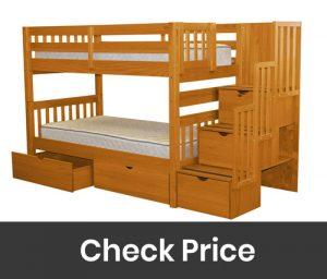 Bedz King Stairway Bunk Beds