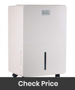 Black Decker BDT70PWT Dehumidifier with Built in Pump
