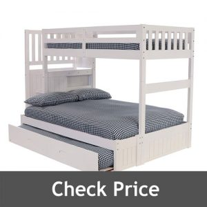Discovery Twin Over Full Stair Stepper Bed with Trundle