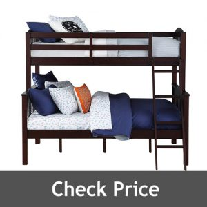 Dorel Living Bunk Beds Twin Over Full with Ladder