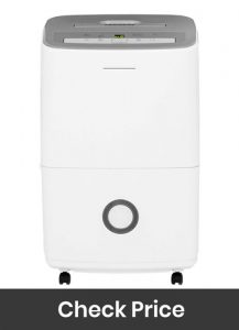 Frigidaire 30 Pint Dehumidifier with Effortless Humidity Control