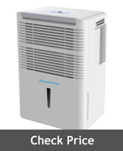 Keystone High Efficiency 70 Pint Dehumidifier