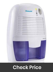 Powilling Small Thermo Electric Dehumidifier