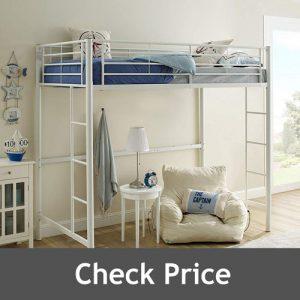 WE Furniture BTOLWH Bunk Bed