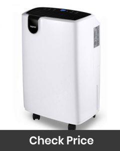 yaufey 30 Pint Home Dehumidifier for Basements Bedroom