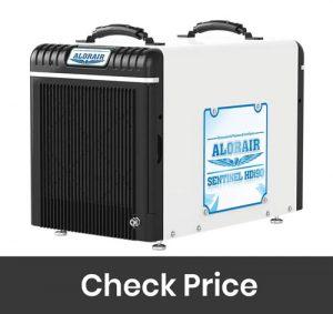 AlorAir 198PPD Basement Dehumidifiers Condensate Pump