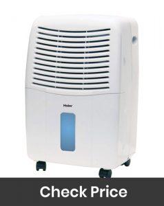 Haier Energy Star 50 Pt. Dehumidifier with Smart Dry