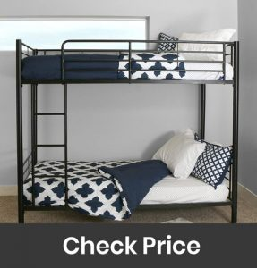 Home Accent Sturdy Metal Twin Bunk Bed