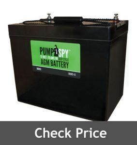 PumpSpy Maintenance Battery