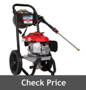 Simpson Gas Pressure Washer Powered by HONDA