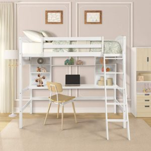 5 Top Best Bunk Beds With Desk Underneath Reviews 2020 Globo Tools