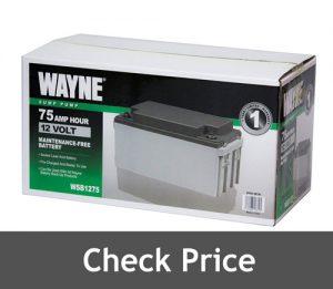 Wayne WSB1275 Battery