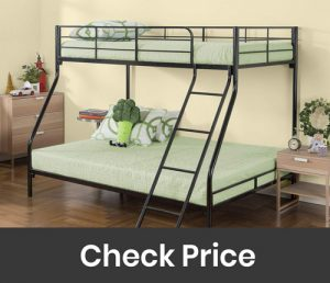 Zinus Hani Quick Lock Metal Bunk Bed