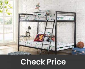 Zinus Patti Twin over Queeb Bunk Bed