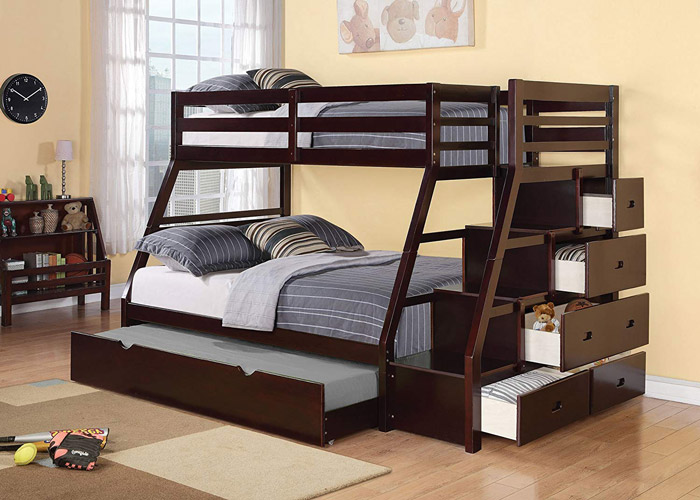 Best twin over full bunk beds with drawers