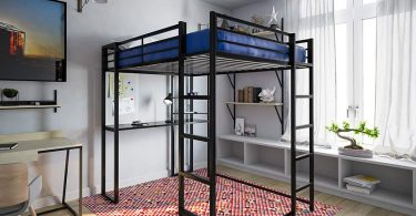 Bunk Beds for Adults with Desk