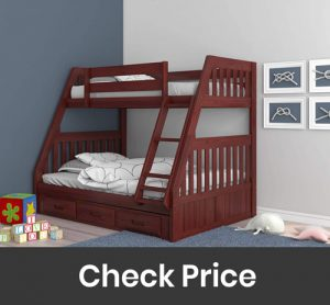 Discovery World Furniture with 3 Drawer Storage Bunk Bed