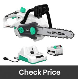 LiTHELi Cordless Chainsaw with Brushless Motor