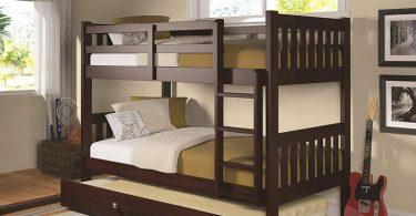 Top Bunk Bed Storage