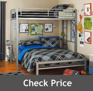 Your Zone Bed Metal Frame for Kids Bedroom Teenager and Dorm
