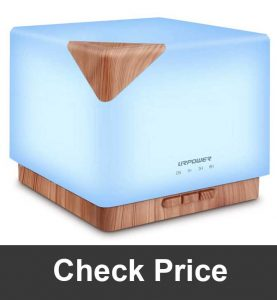 URPOWER Square Aromatherapy Diffuser Humidifier