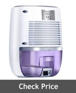 COSVII Small Portable Dehumidifier