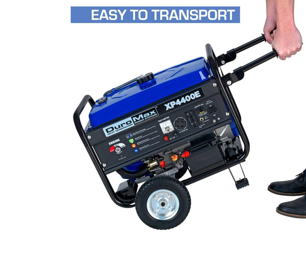 DuroMax XP4400E 4400 Generator with Electric Start