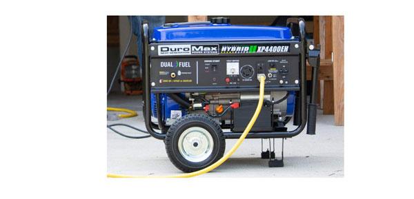 DuroMax XP4400EH Dual Fuel Hybrid generator