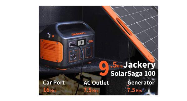 Jackery Explorer 500 Solar Generator 1